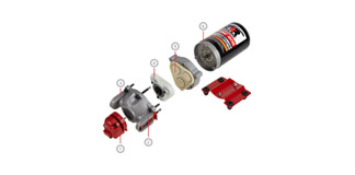 12V Diaphragm Pumps product range